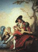 Ramon Bayeu Boy with Guitar China oil painting reproduction