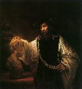 Rembrandt Aristotle with a Bust of Homer China oil painting reproduction