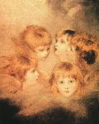 Sir Joshua Reynolds Heads of Angels China oil painting reproduction