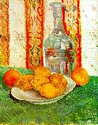 Vincent Van Gogh Still Life with Decanter and Lemons on a Plate China oil painting reproduction