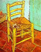 Vincent Van Gogh Artist's Chair with Pipe China oil painting reproduction
