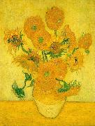 Vincent Van Gogh Sunflowers  ww China oil painting reproduction