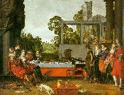 Willem Buytewech Merry Company in the Open Air China oil painting reproduction