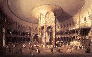 Canaletto London: Ranelagh, Interior of the Rotunda vf China oil painting reproduction