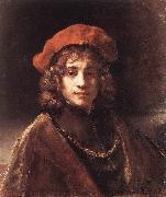REMBRANDT Harmenszoon van Rijn The Artist's Son Titus du China oil painting reproduction