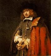 REMBRANDT Harmenszoon van Rijn Jan Six China oil painting reproduction