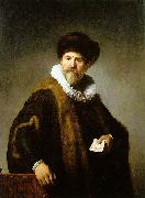 REMBRANDT Harmenszoon van Rijn Portrait of Nicolaes Ruts China oil painting reproduction
