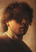 REMBRANDT Harmenszoon van Rijn Self-Portrait sh China oil painting reproduction
