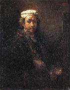 REMBRANDT Harmenszoon van Rijn Portrait of the Artist at His Easel gu China oil painting reproduction