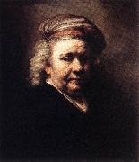 REMBRANDT Harmenszoon van Rijn Self-Portrait   w6 China oil painting reproduction