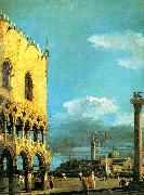 Canaletto The Piazzetta- Looking South China oil painting reproduction