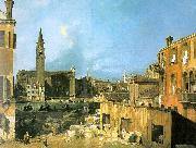Canaletto The Stonemason's Yard China oil painting reproduction
