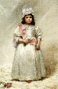 Elizabeth Lyman Boott Duveneck Little Lady Blanche China oil painting reproduction