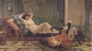 Frederick Goodall A New Light in the Harem (mk32) China oil painting reproduction